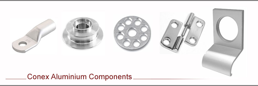 Conex aluminium Parts and Components